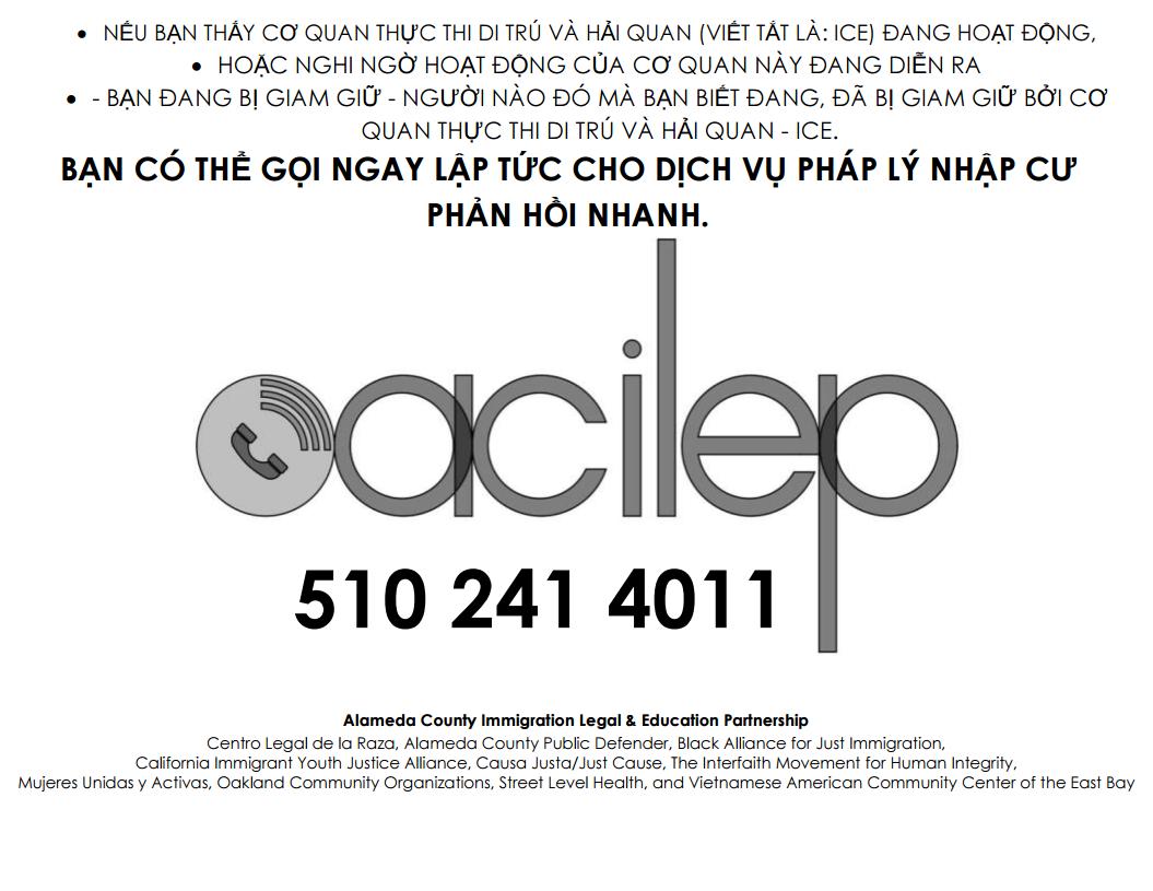 ACILEP – Centro Legal de la Raza